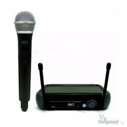 Microfone Sem Fio De Mão Profissional Uhf Mxt 202 R201